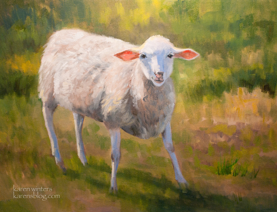 Pinturas De Ovelhas E Pastoras Colorada Colorida